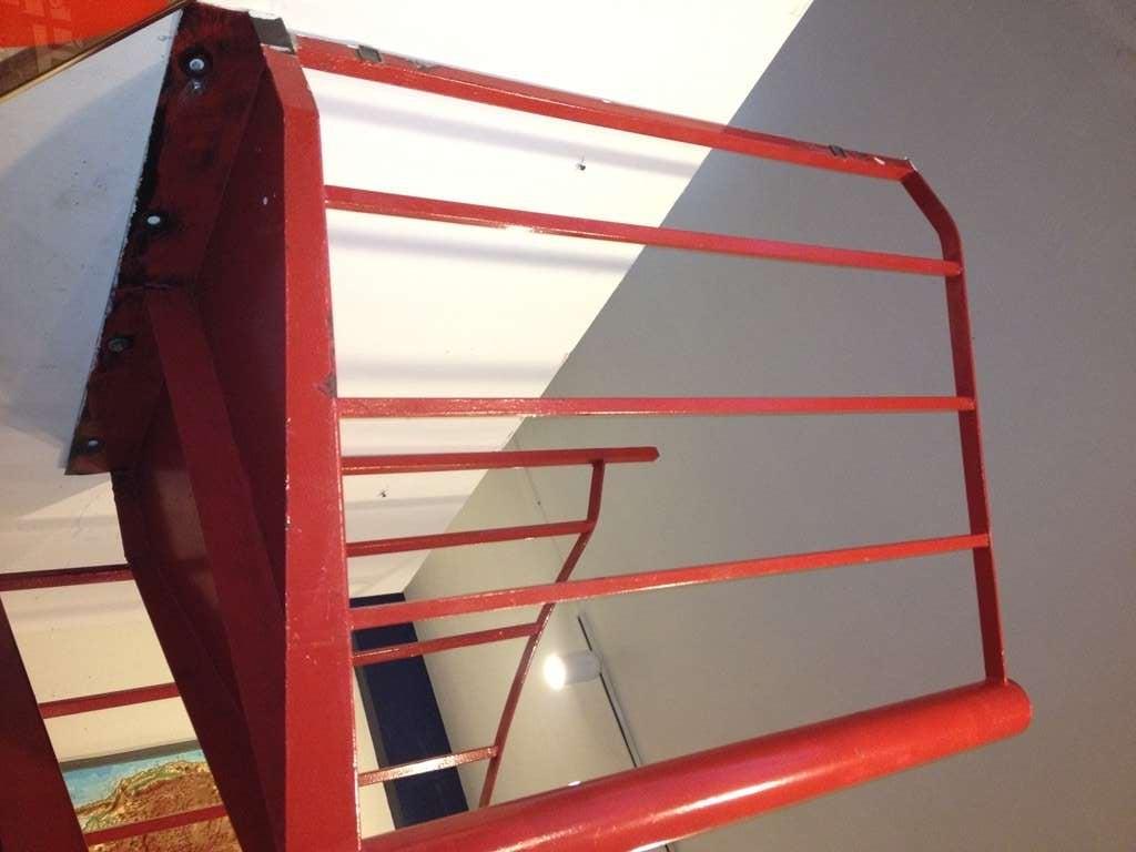 Vintage Steel Spiral Staircase 4