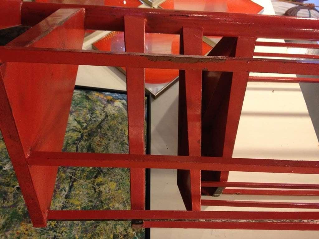 Vintage Steel Spiral Staircase 6