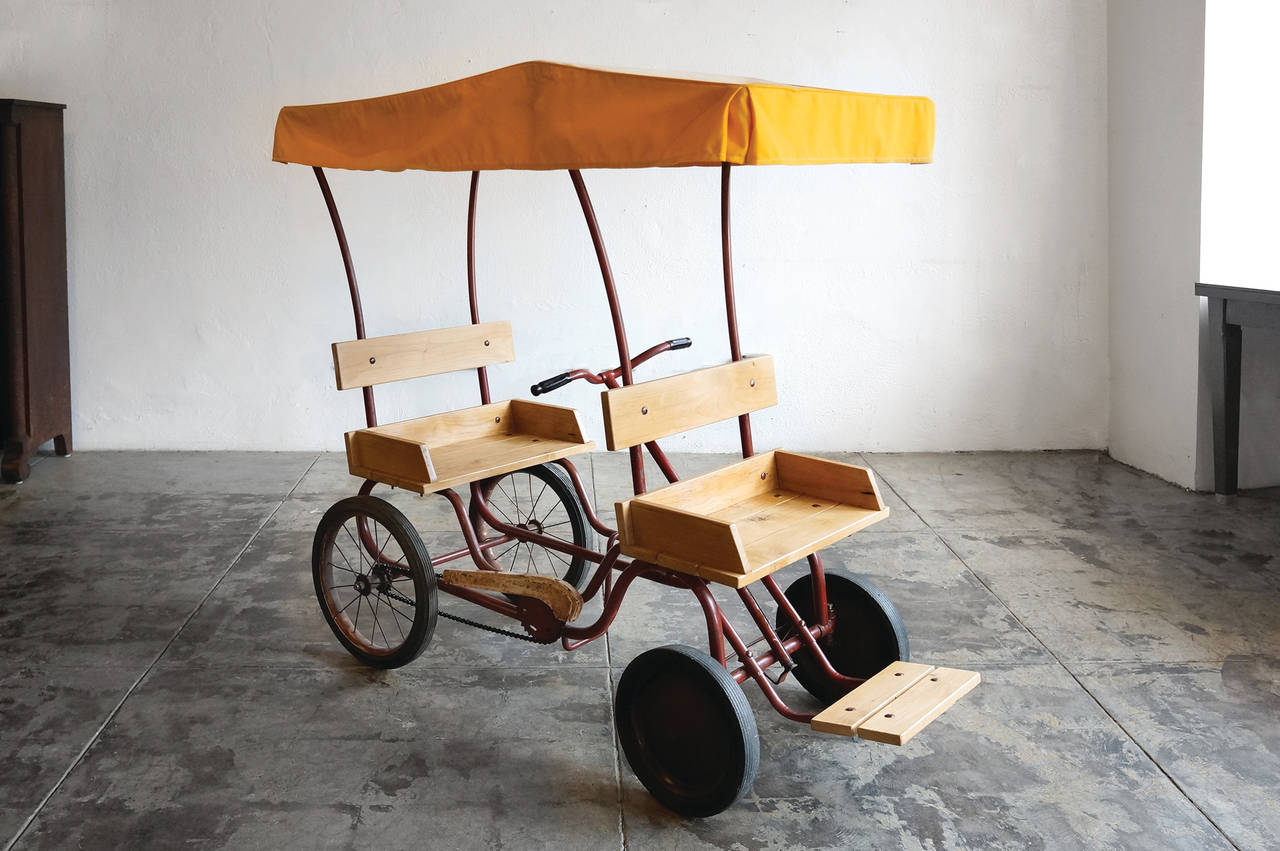 Antique Pedal Car Circa 19550s At 1stdibs