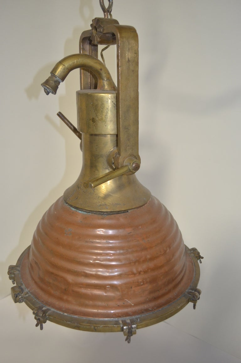 Vintage Nautical Pendant Light image 2