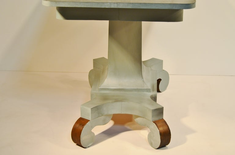 19th Century Zinc Clad Console Table image 2