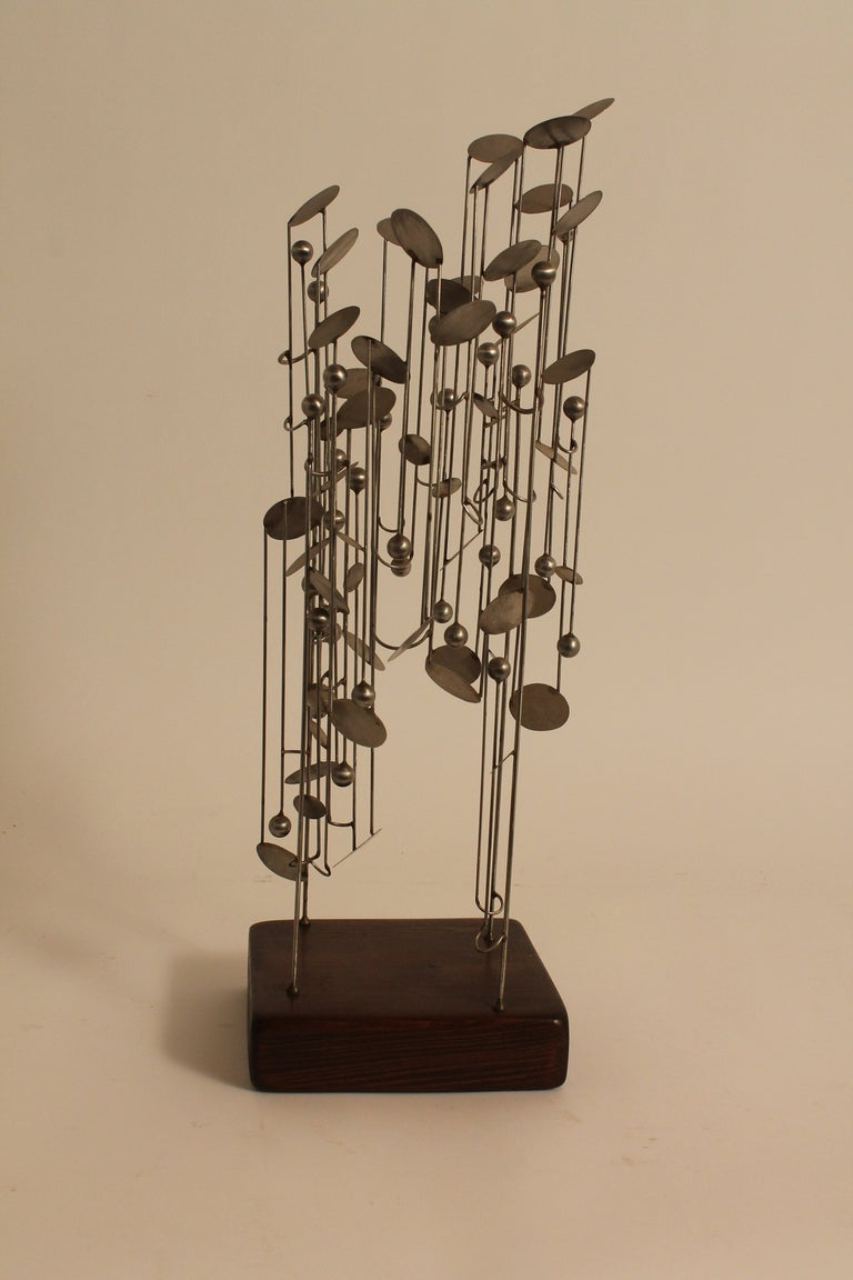 Graphic Steel Modernist Maquette image 2