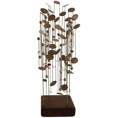 Graphic Steel Modernist Maquette