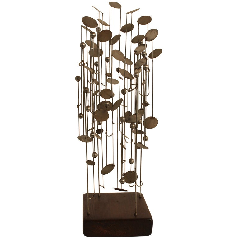 Graphic Steel Modernist Maquette