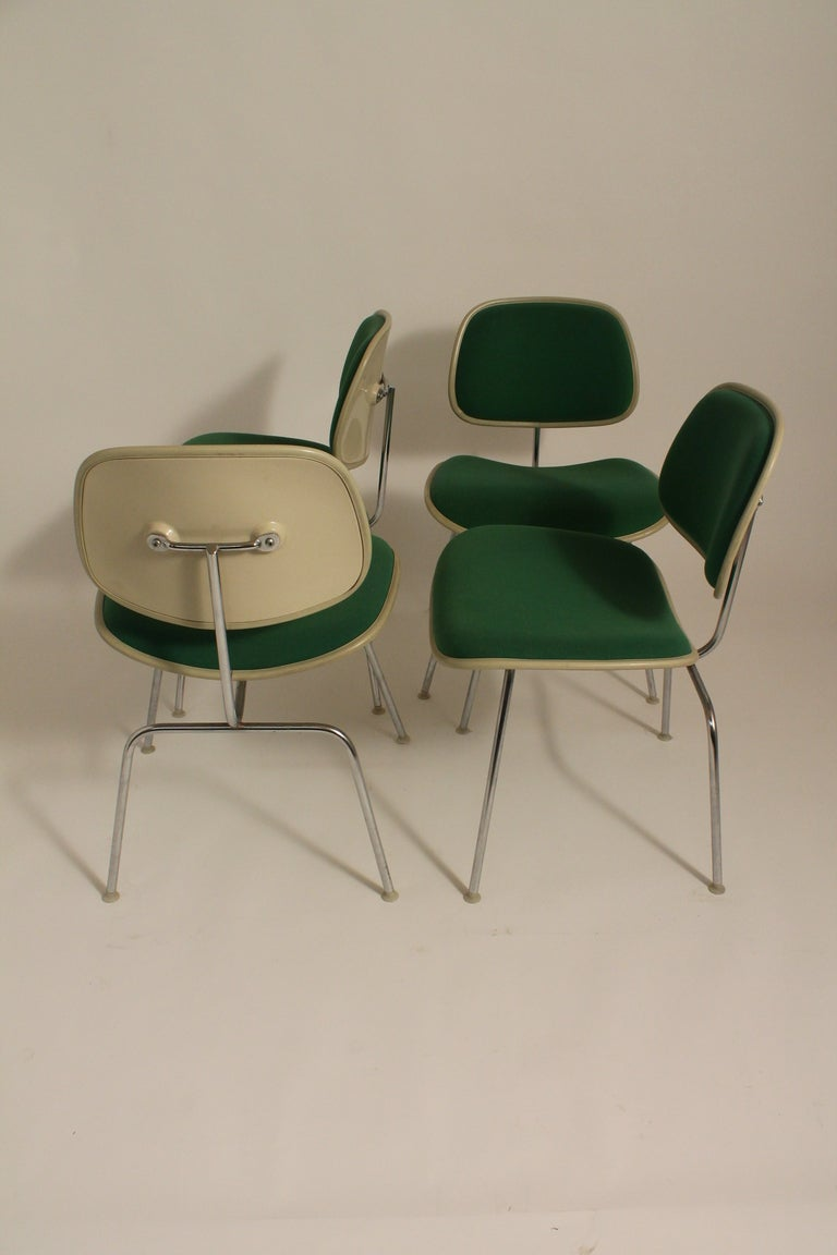 Set of Four Charles Eames for Herman Miller DCM Chairs image 3