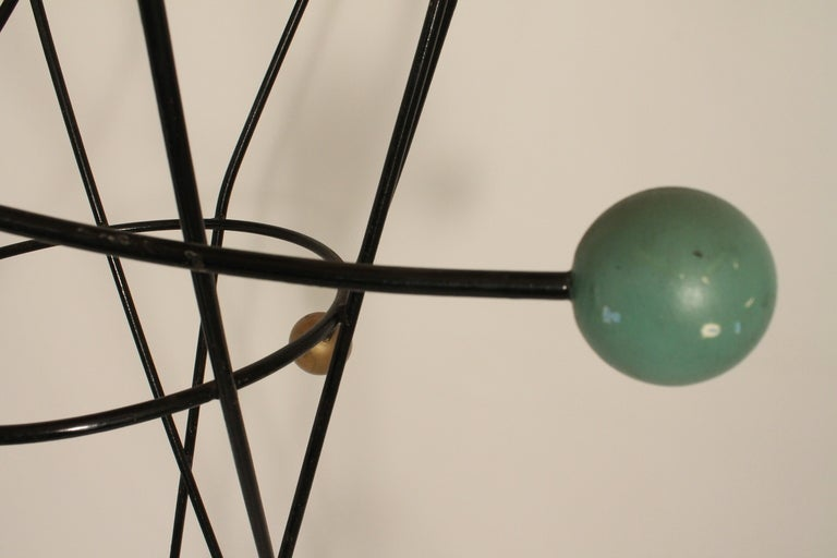 Mid Century Moderne French Sculptural Coat Rack image 2