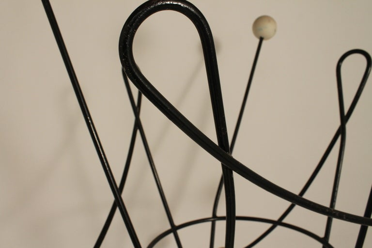 Mid Century Moderne French Sculptural Coat Rack image 5