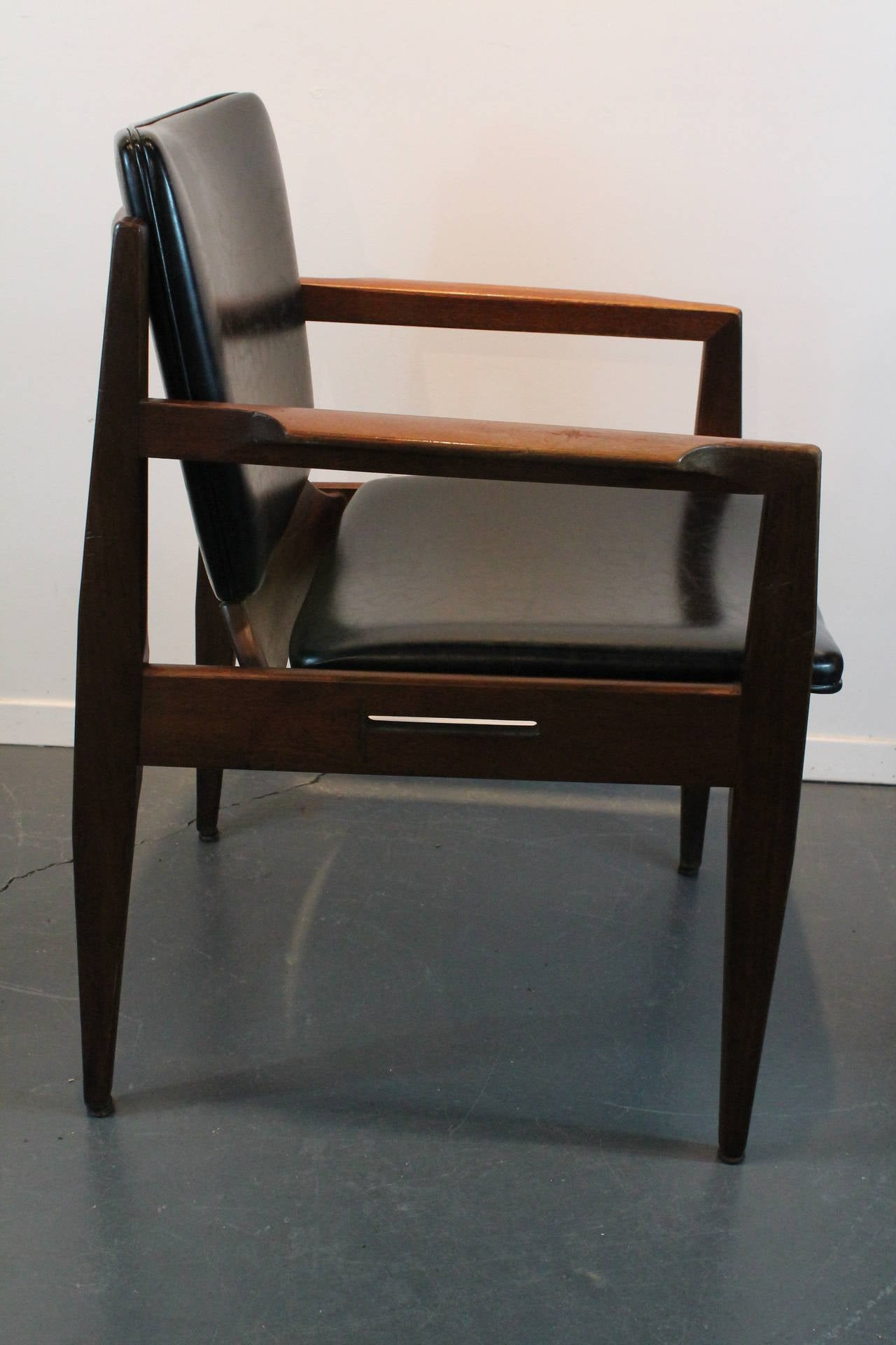 Pair of mid century modern thonet armchairs for sale at for Mid century modern armchairs