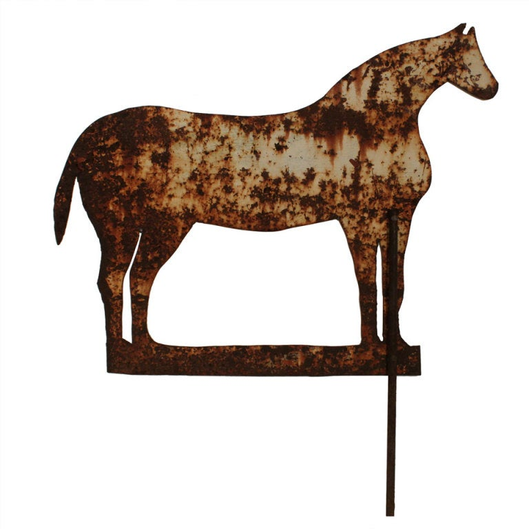 Paint Horse Silhouette Metal Horse Silhouette