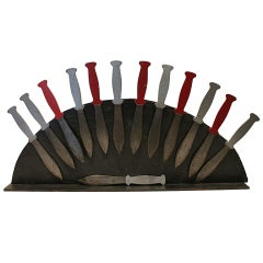 Circus Side Show Collection of Throwing Knives