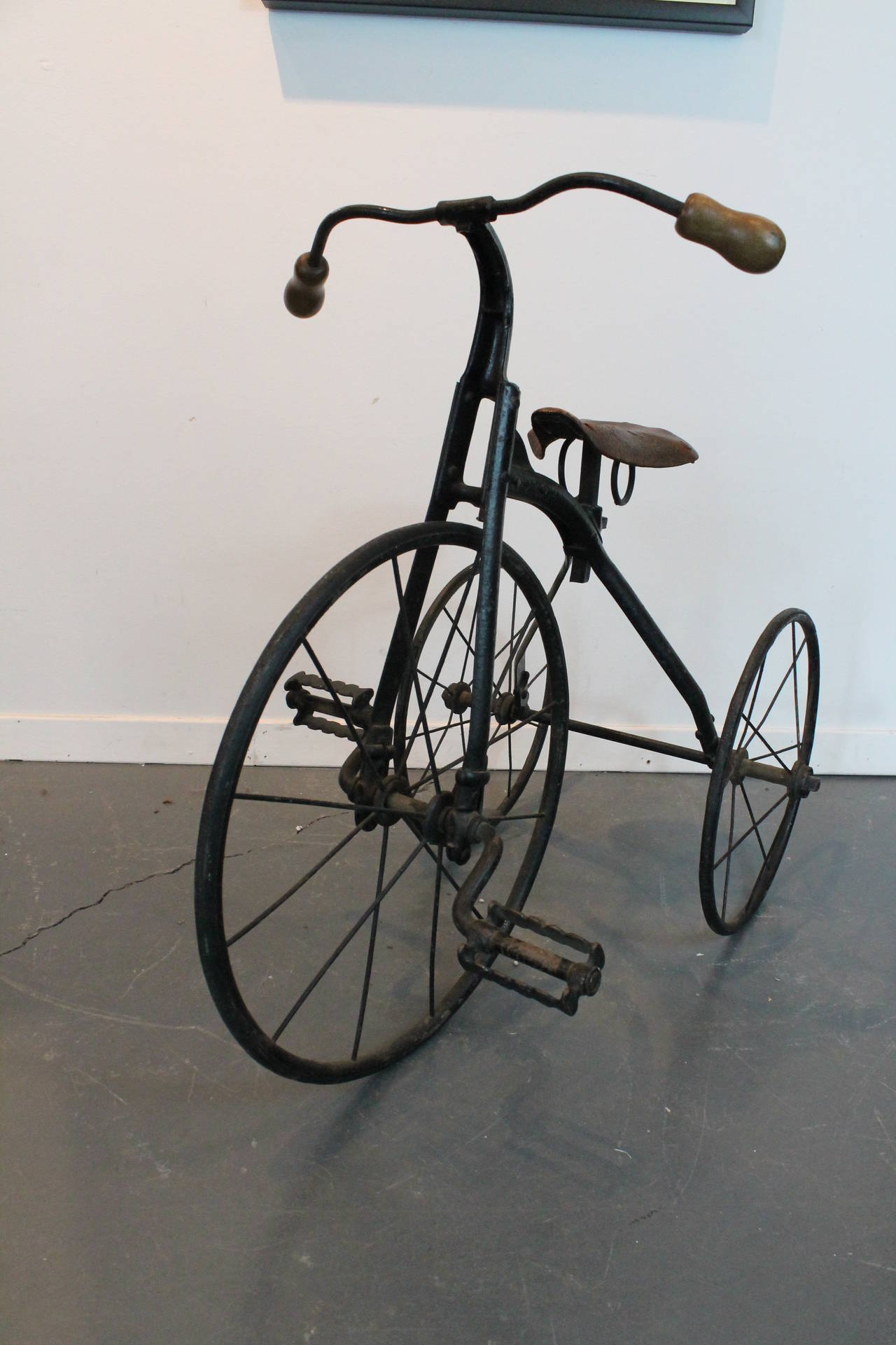 19th Century Iron Tricycle At 1stdibs