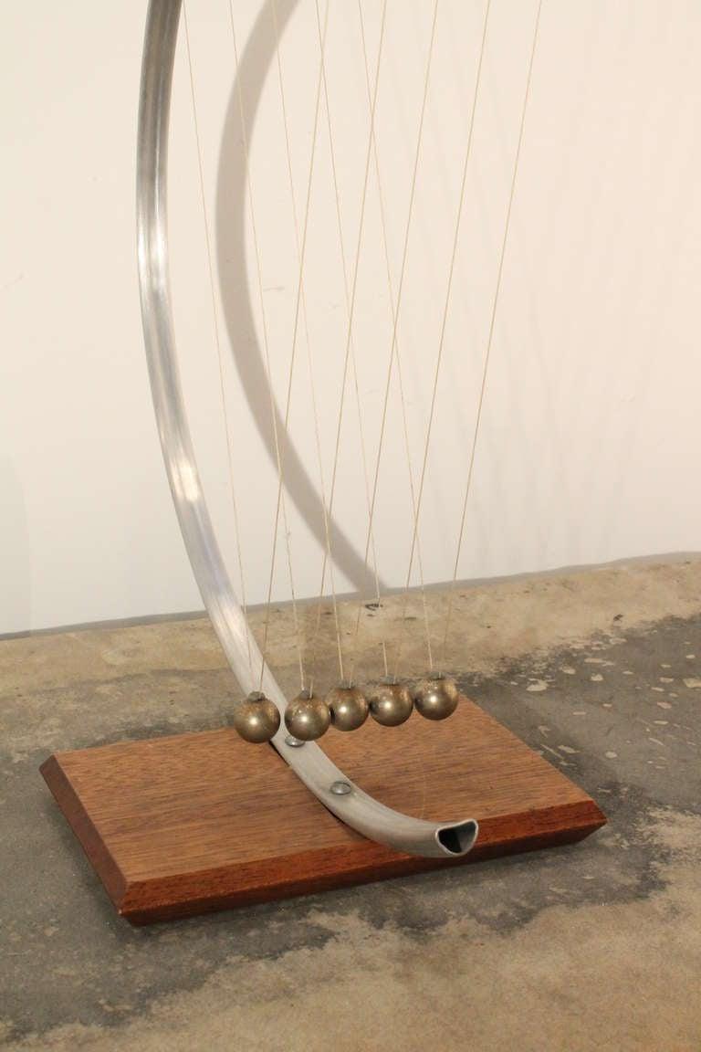 Mid-Century Modern Minimalist Perpetual Motion Sculpture at 1stdibs