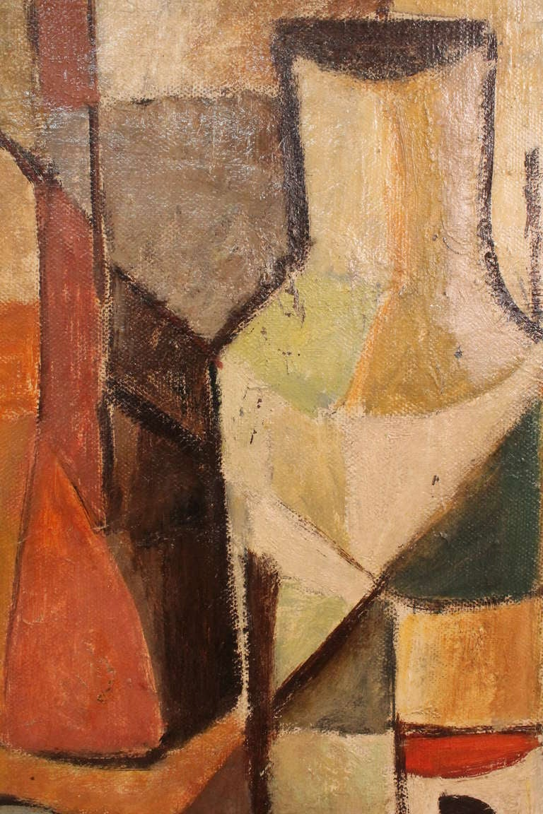 Cubist Still Life By Gertrude Harbart At 1stdibs