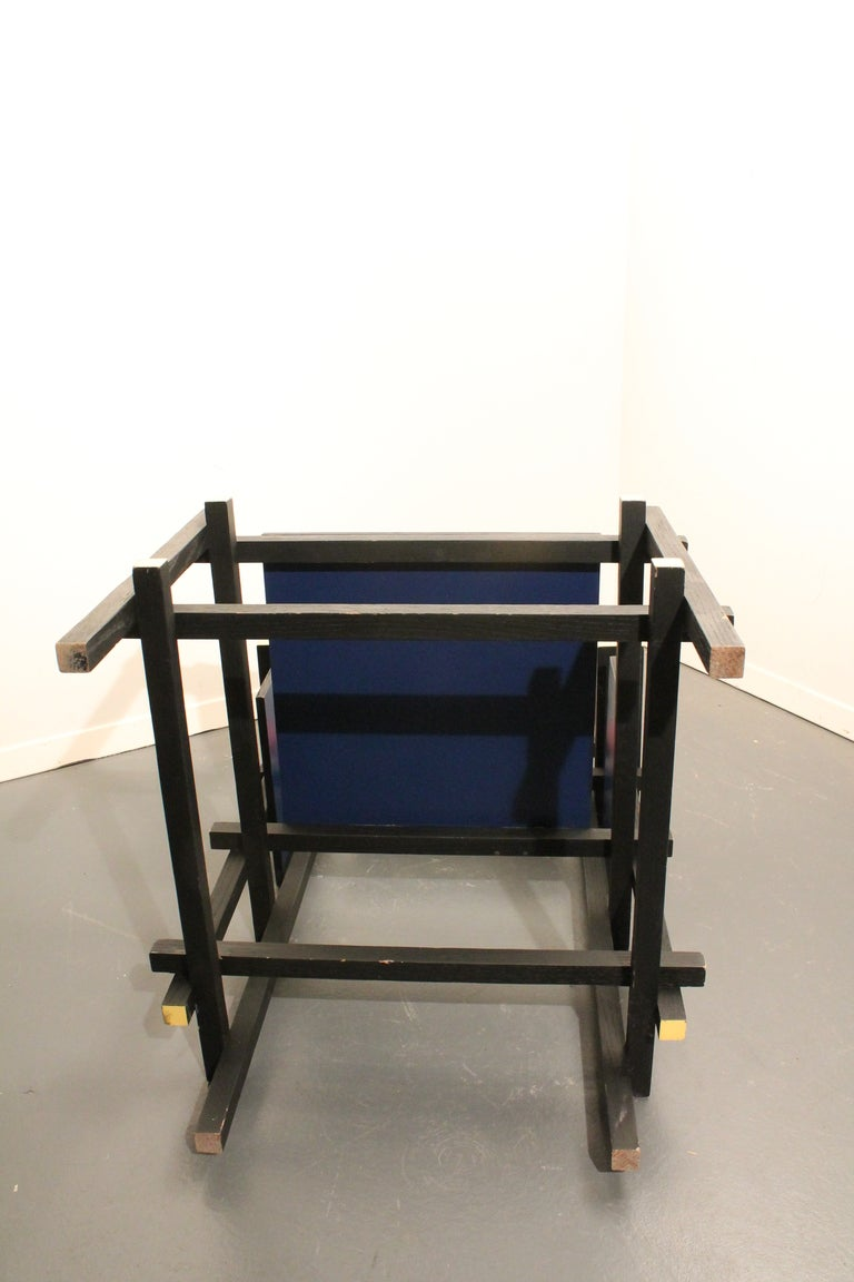 Modernist Side Chair in the Style of Gerrit Rietveld image 5