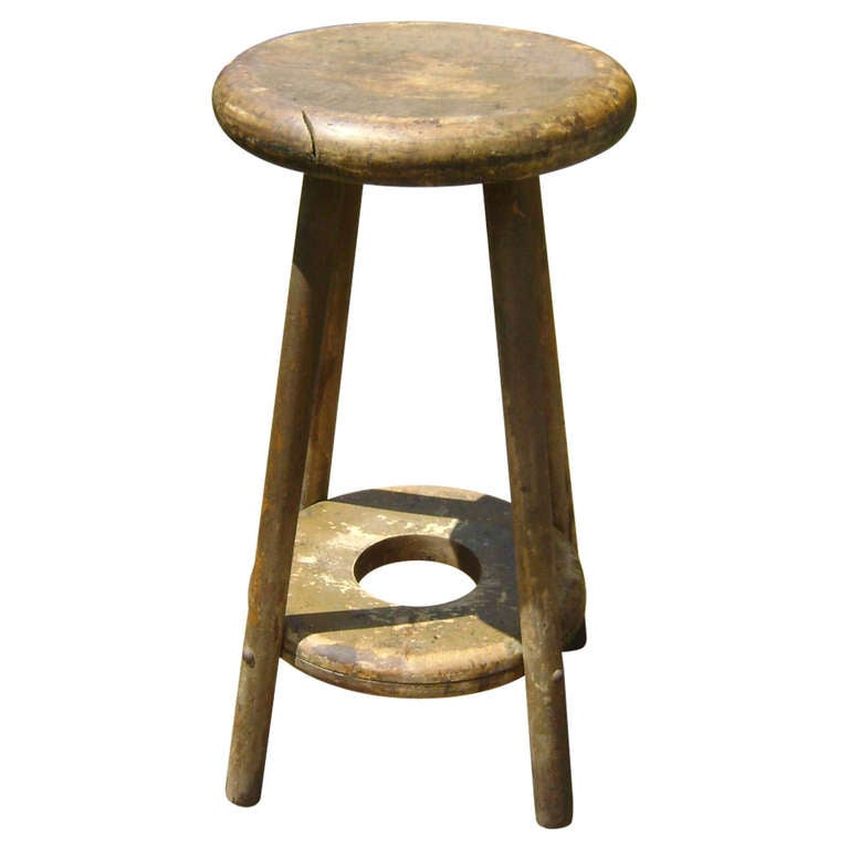 Antique European Bar Stool At 1stdibs