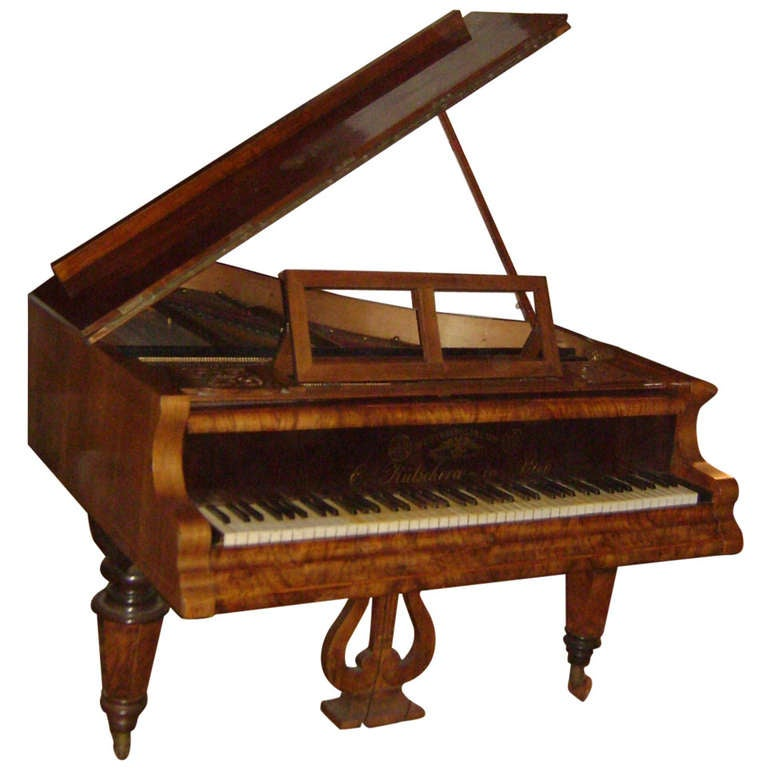 Antique 1873 Vieneese Grand Piano At 1stdibs