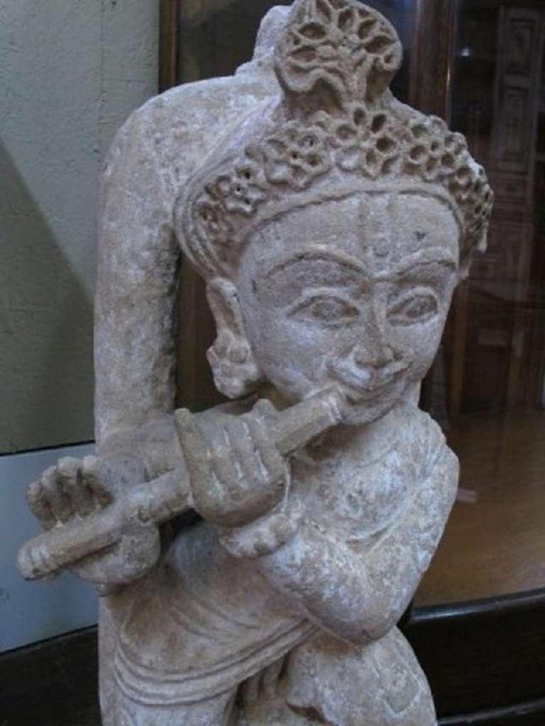 Large tibetan stone sculpture of dancing deiti at stdibs