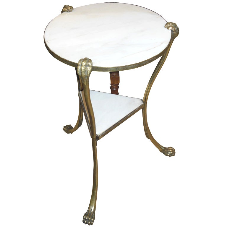 antique art deco side table at 1stdibs. Black Bedroom Furniture Sets. Home Design Ideas