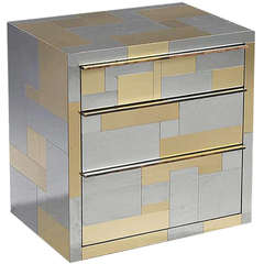 Cityscape Cabinet with Drawers by Paul Evans