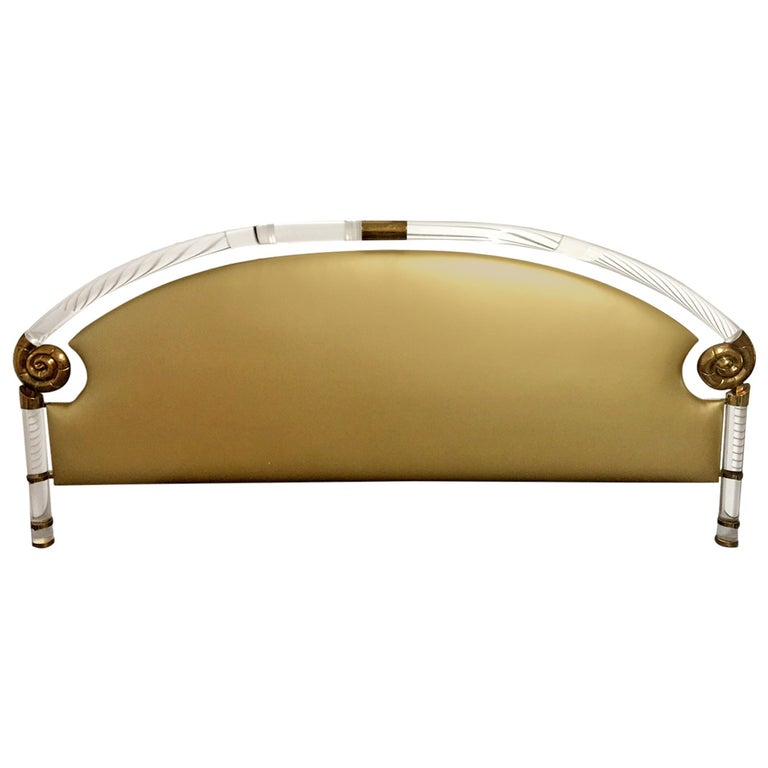 Most Glamorous Headboard by Marcello Mioni For Sale