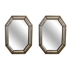 A pair of Large Vintage La Barge Mirror with Gilt Frame