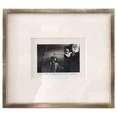 Framed Photograph by Duane Michals