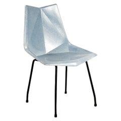 Fiberglass Origami Chair by Paul McCobb