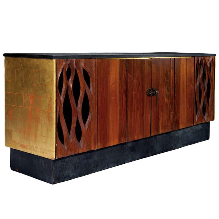 Cabinet Credenza Phillip Lloyd Powell and Paul Evans at