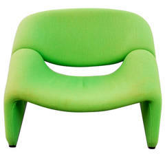 """A """"Groovey"""" lounge chair Pierre Paulin for Artifort"""