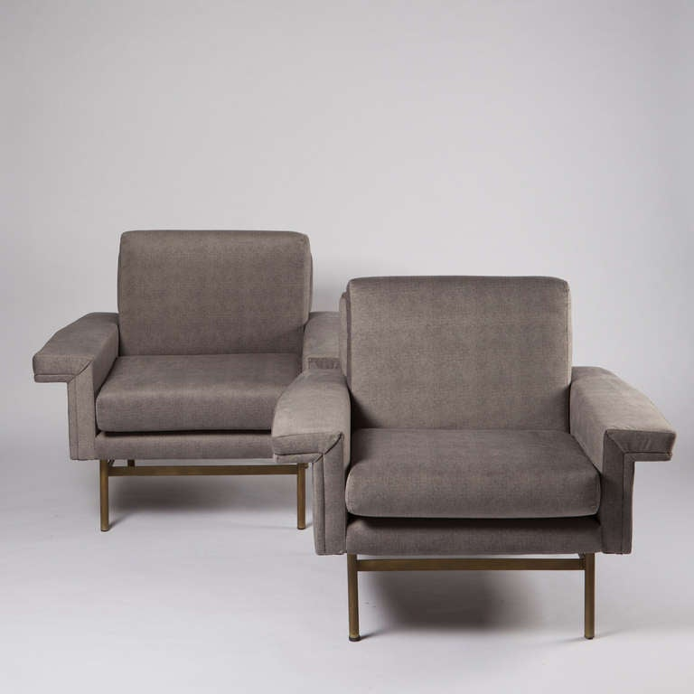 Pair of Armchairs by Giampiero Vitelli for Rossi di Albizzate 2