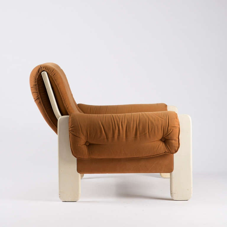 "Mid-20th Century ""Sporting"" Lounge Chair by Ammannati and Vitelli for Rossi di Albizzate For Sale"