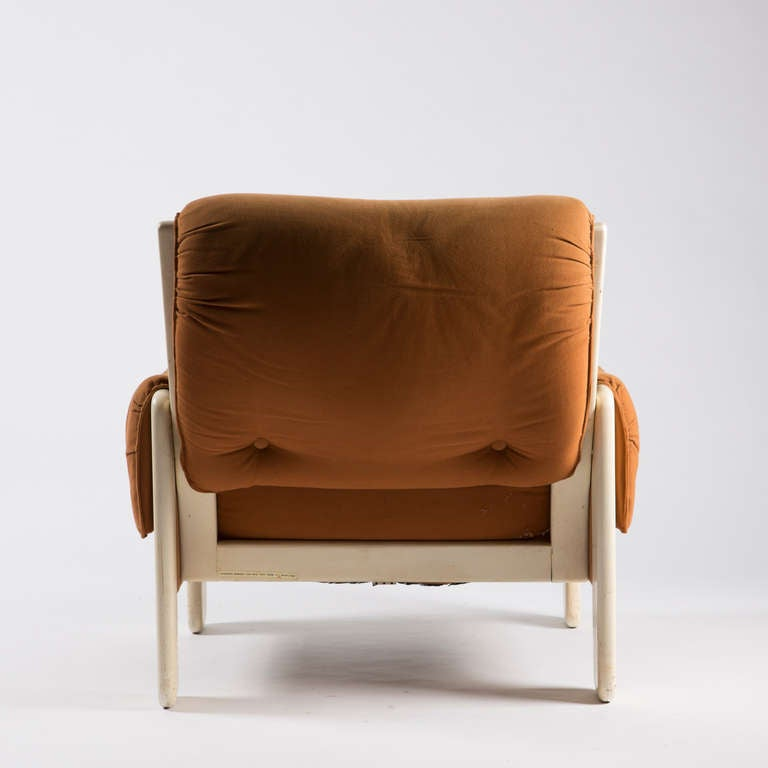 "Wood ""Sporting"" Lounge Chair by Ammannati and Vitelli for Rossi di Albizzate For Sale"