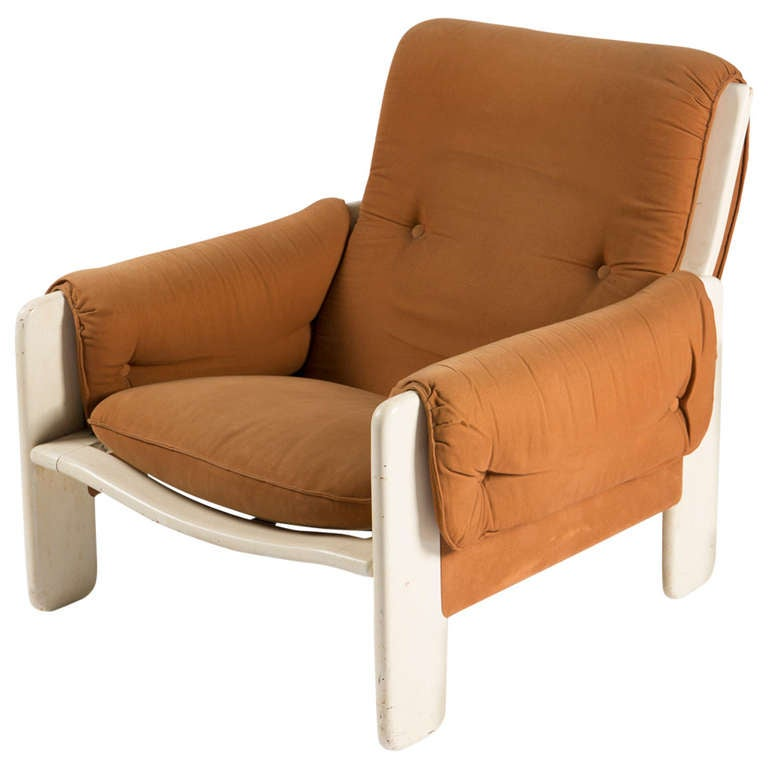 """Sporting"" Lounge Chair by Ammannati and Vitelli for Rossi di Albizzate For Sale"