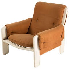 """Sporting"" Lounge Chair by Ammannati and Vitelli for Rossi di Albizzate"