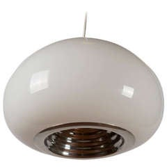 """Black & White"" Pendant Lamp by Castiglioni for Flos"