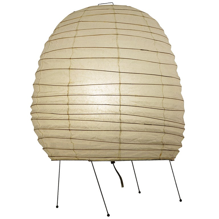 Big Table Lamp by Isamu Noguchi at 1stdibs