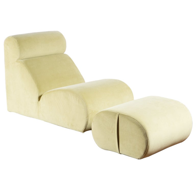 Quot Bobo Quot Lounge Chair By Cini Boeri For Arflex For Sale At