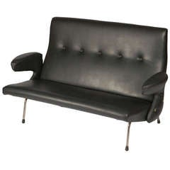"Rare ""Delfino"" Sofa by Erberto Carboni for Arflex"