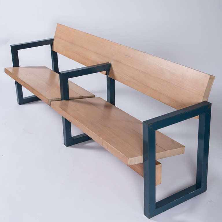 Church Bench By Gerrit Rietveld For Sale At 1stdibs