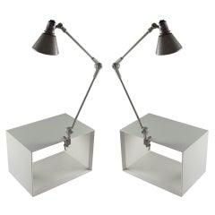 Pair of Stilnovo Clamp Lamps