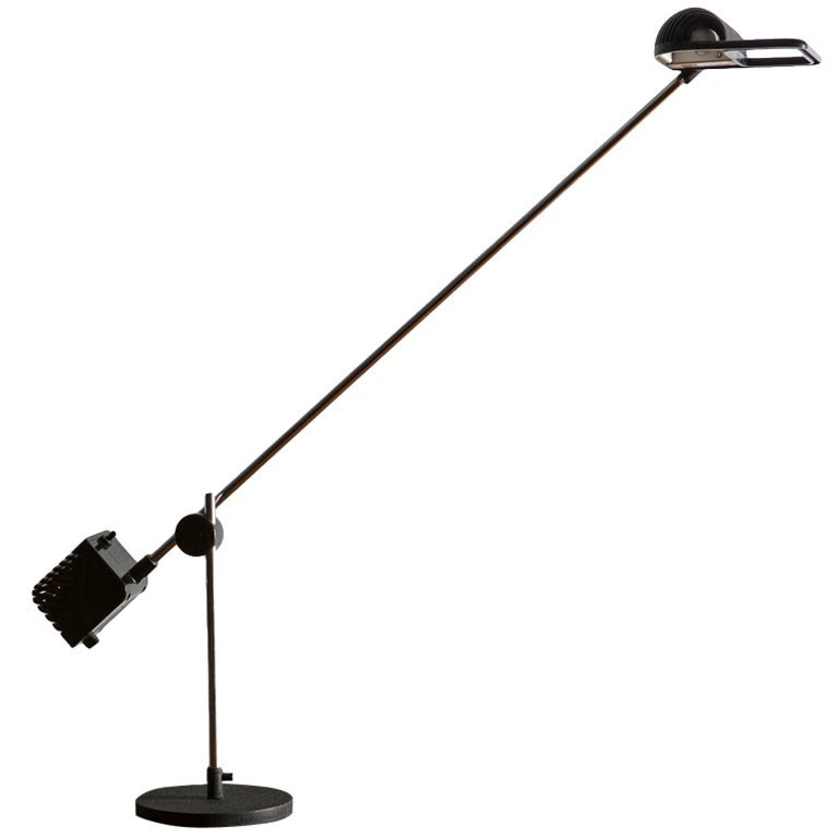 Maniglia Table Lamp by De Pas, Lomazzi and D'Urbino for Stilnovo