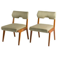Pair of Chairs in the style of Augusto Romano