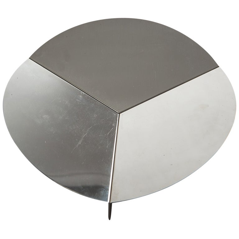 Steel Centerpiece by Grignani for Luci
