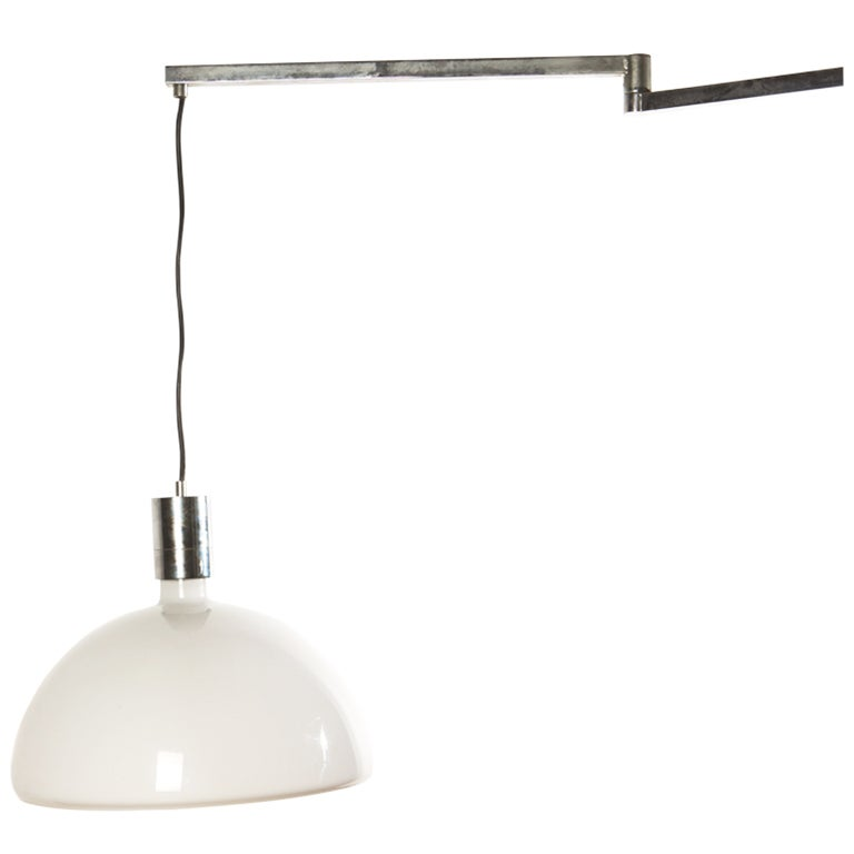 """""""AM/AS"""" Adjustable Ceiling Lamp by Albini, Helg and Piva for Sirrah"""