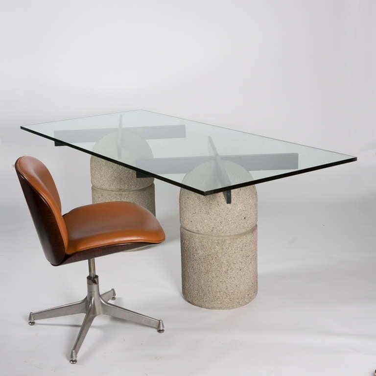 "Italian Sofa Brent Cross: ""Paracarro"" Table By Giovanni Offredi For Saporiti For"