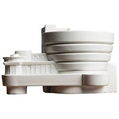 """Guggenheim"" Ceramic Sculpture by A.Ba.Co. for New Land"