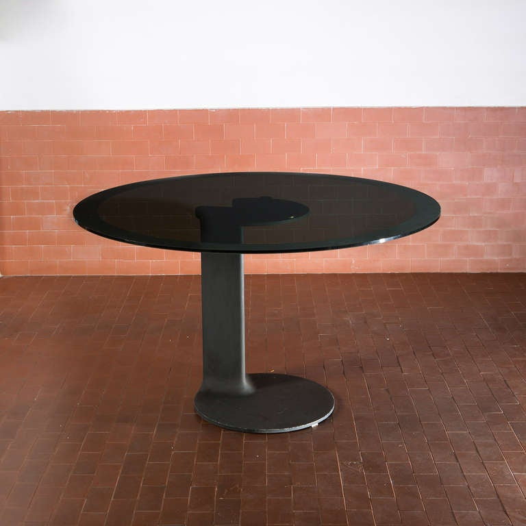 Italian Rare Table Model TL 59 by Afra and Tobia Scarpa for Poggi For Sale