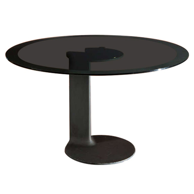 Rare Table Model TL 59 by Afra and Tobia Scarpa for Poggi 1