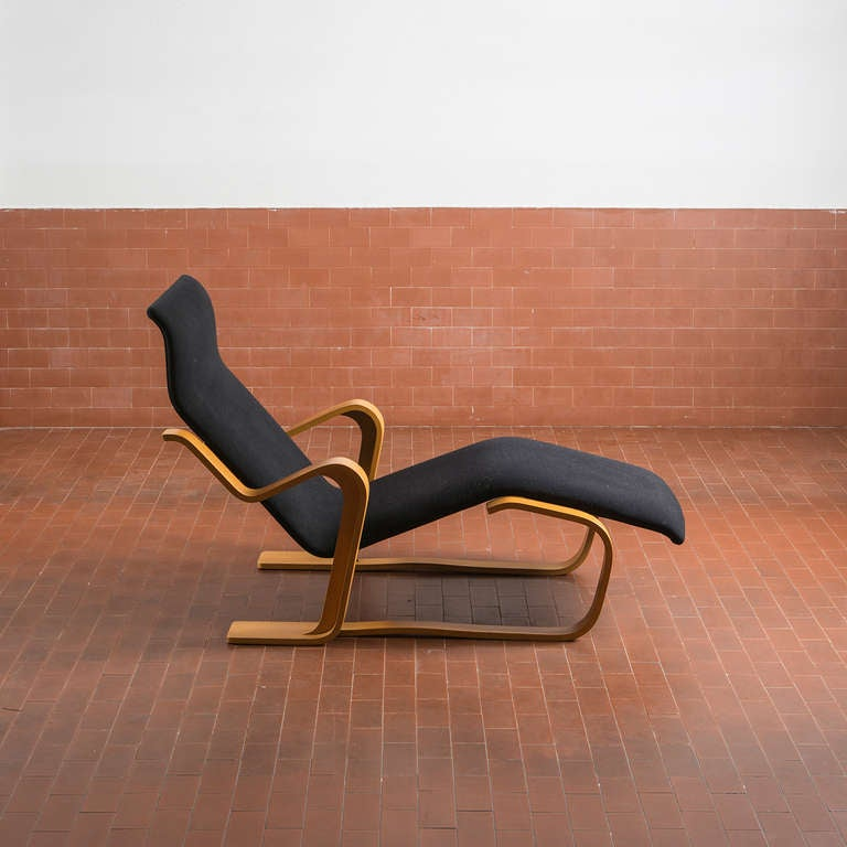 Stunning reclining chaise longue by marcel breuer for for Breuer chaise longue