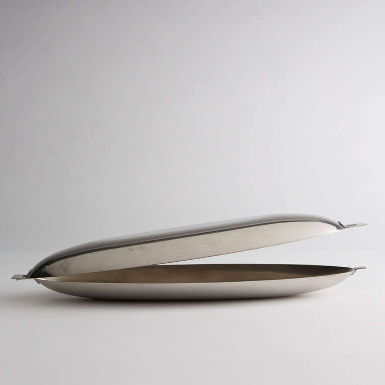 Fish dish by roberto sambonet for sale at 1stdibs for Goedkope stukadoor